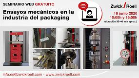 Foto de Webinar gratuito para conocer los ensayos mecánicos más comunes en la industria del packaging