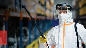 Foto de Fogger, la solución de ULMA SM para higienizar vehículos, materiales y superficies