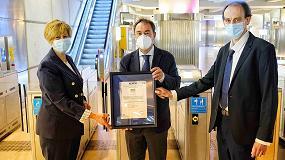 Foto de Euskotren, primer operador ferroviario en lograr el certificado Aenor de protocolos frente a la COVID-19