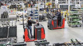 Foto de Nueva serie de tractores de arrastre de Linde Material Handling