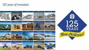 Foto de New Holland Agriculture: 125 años de historia de la mecanización agraria