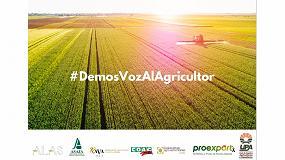 Foto de El sector primario lanza la campaña #DemosVozAlAgricultor