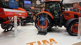 Foto de Kubota obtiene la certificación AEF en sus tractores e implementos TIM