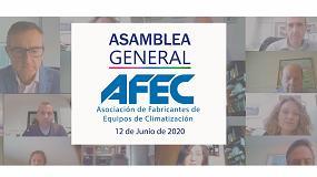 Foto de Afec celebra su Asamblea General de forma telemática