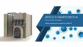 Foto de Radiografías de tórax para toda la población en cabinas Apolo D Smartcheck AI instalables