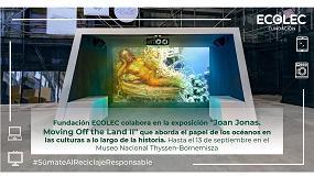 Foto de La Fundación Ecolec colabora en la exposición 'Joan Jonas: Moving off the Land II' en el Museo Thyssen-Bornemisza