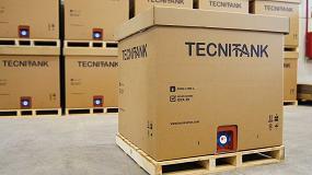 Foto de La validación 3H ISTA para el Tecnitank de DS Smith Tecnicarton garantiza su calidad para el transporte de líquidos a granel
