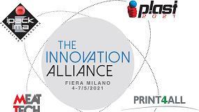 Foto de Plast y Meat-Tech se celebrarán en 2021, mientras que Ipack-Ima, Print4all e Intralogistica Italia pasan a 2022