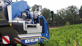Foto de New Holland lanza el despalillador Combi-Grape para vendimiadoras Braud