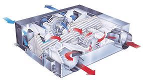 Foto de Lossnay, la ventilación descentralizada con recuperación de calor de Mitsubishi Electric que garantiza una mejor calidad de aire interior