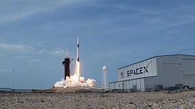 Foto de Röhm aporta su grano de arena al primer vuelo espacial privado tripulado de la historia