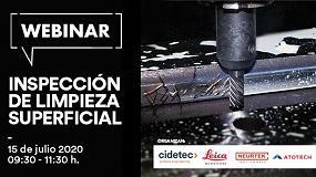 Foto de Nuevo webinar sobre limpieza superficial a cargo de Cidetec, Neurtek, Atotech y Leica
