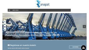 Foto de Anapat renueva su página web