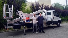 Foto de Transgrúas entrega la primera plataforma Multitel Pagliero MXE 200