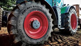 Foto de BKT aplica las tecnologías IF y VF en los neumáticos Agrimax
