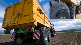 Foto de Michelin TrailXBIB, nuevo neumático para remolques y aperos
