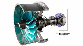 Foto de ITP Aero diseña y fabrica la primera carcasa de la IPT del futuro motor UltraFan de Rolls-Royce