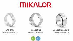 Foto de Mikalor, entre los principales fabricantes de abrazaderas de orejas