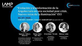Foto de Finaliza la serie de debates digitales de Lamp sobre arquitectura e iluminación