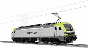 Foto de Captrain España realiza un pedido de locomotoras eléctricas EURO6000, en ancho tanto estándar como ibérico