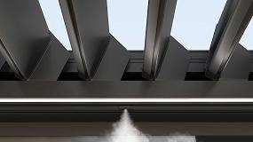 Foto de KE Outdoor Design presenta Cool & Safe, un sistema de nebulización integrado