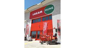 Foto de LoxamHune amplía su delegación de Valladolid para acoger una nueva tienda de maquinaria pequeña
