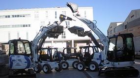 Fotografia de Movoequip subministra cinc noves màquines a Acsa