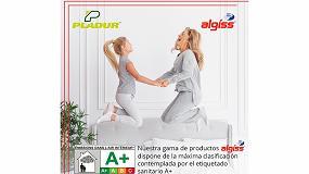 Foto de La gama de yesos Algíss dispone de la máxima calificación A+ en calidad del aire interior