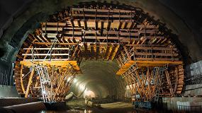 Foto de La construcción del túnel de carretera más largo de Polonia con el carro de encofrado MK de Ulma