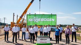 Foto de Sennebogen invierte más de 25 millones de euros en su nuevo Centro de Servicio al Cliente