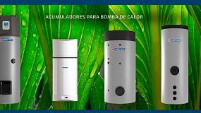 Foto de 'Acumuladores para bomba de calor' nueva categoría en la web de Suicalsa