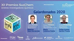 Foto de SusChem-España falla la XII Edición de sus Premios SusChem-Jóvenes Investigadores Químicos