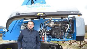 Foto de Nuevo motor fase V Genie con innovadora tecnología de 'confort para el operario'