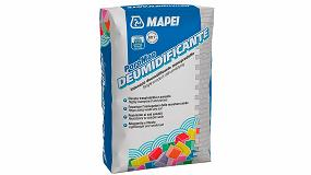 Foto de Nuevo PoroMap Deumidificante de Mapei para sanear las paredes degradadas
