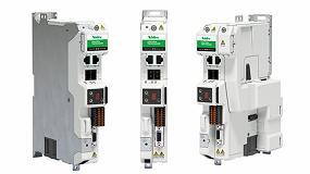 Foto de Nuevo servo drive Digitax M750 aumenta el potencial de control para redes basadas en Ethernet