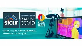 Foto de Medidas de seguridad, protocolos y recomendaciones en los webinars de Sicur Especial COVID