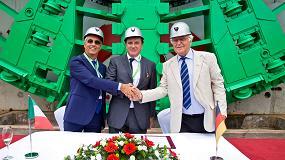 Foto de La tuneladora más grande de Europa finaliza su trabajo en Italia