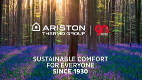 Foto de Ariston Thermo anuncia un crecimiento en sus resultados financieros del año 2019.