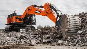 Foto de DX800LC-7, la nueva excavadora de Doosan para la clase de 80 toneladas