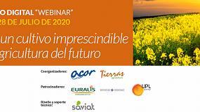 Foto de ACOR y Tierras organizan el webinar 'Colza, un cultivo imprescindible en la agricultura del futuro'
