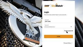 Foto de Case presenta la plataforma telemática SiteWatch con un diseño renovado, una nueva pantalla y una navegación más sencilla