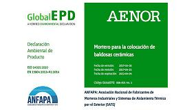 Foto de Declaración Ambiental de Producto, DAP