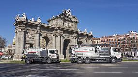 Foto de Acciona incorpora vehículos eco para el mantenimiento del alcantarillado y el saneamiento de 43 ayuntamientos de la Comunidad Madrid