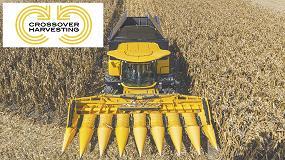 Foto de Crossover Harvesting: un nuevo concepto en las cosechadoras New Holland de gama media