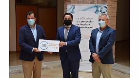 Foto de SGS valida y certifica los protocolos de higiene de la Universidad Católica de Valencia elaborados por Betelgeux-Christeyns