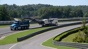 Foto de La serie F de Wirtgen se alza con la 'pole position' en un circuito de Alabama
