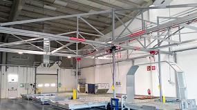 Foto de JHernando instala para Correos un nuevo sistema de paletización de carga aérea