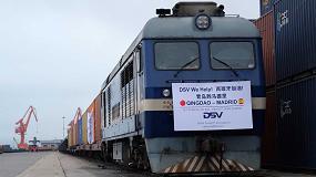 Foto de Un tren de DSV con material sanitario llega a Madrid batiendo un récord