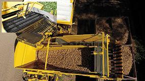 Foto de Doble tolva en la cosechadora de patatas ROPA Keiler II Classic