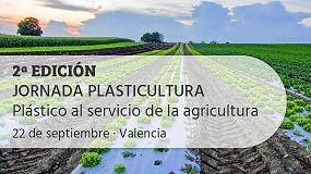 Foto de Aimplas organiza para el 22 de septiembre la segunda edición de su Jornada de Plasticultura
